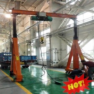 Chinese supplier high capacity load lifting mobile gantry crane movable heavy lift crane