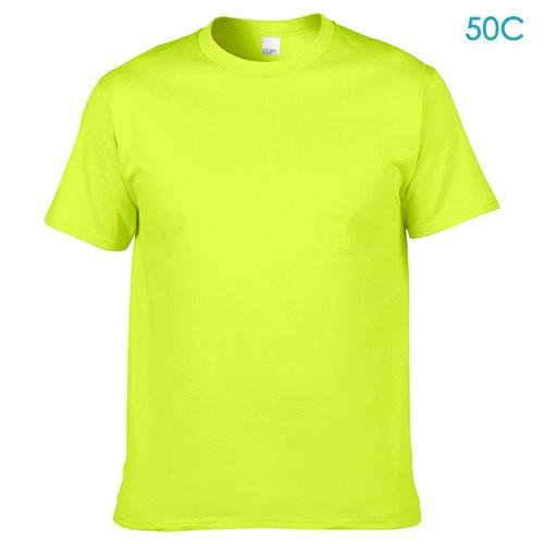 綿 100% 180gsm 男性 oem ロゴカスタムデザイン卸売空白無地 tシャツ