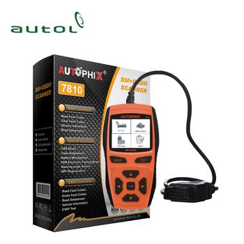 Obdii Car Diagnostic Scan Tool Autophix 7810 Bm Auto Code Reader Free  Update Online - Buy Obdii Car Diagnostic Scan Tool,Autophix 7810,Auto Code