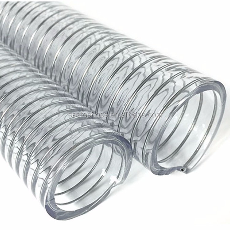 Helix Pipe Wholesale Flexible Pvc Pipe Crush Resistant