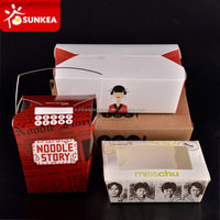 Disposable noodle box, chinese take out lunch box