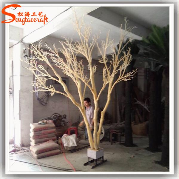 Tronco del rbol artificial sin hojas falsos dry tree rama for Arbol artificial decoracion