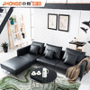 Furniture from china with prices contemporary leather corner living room furniture sofa