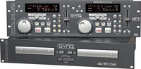 Club /Stage Double Deck CD MP3 Player CDX-2 SYNQ