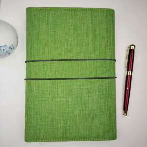 design pu leather notebook and pen sets for business