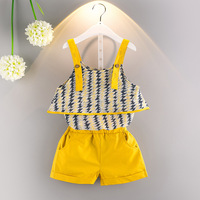 casual kids girl clothing summer sets