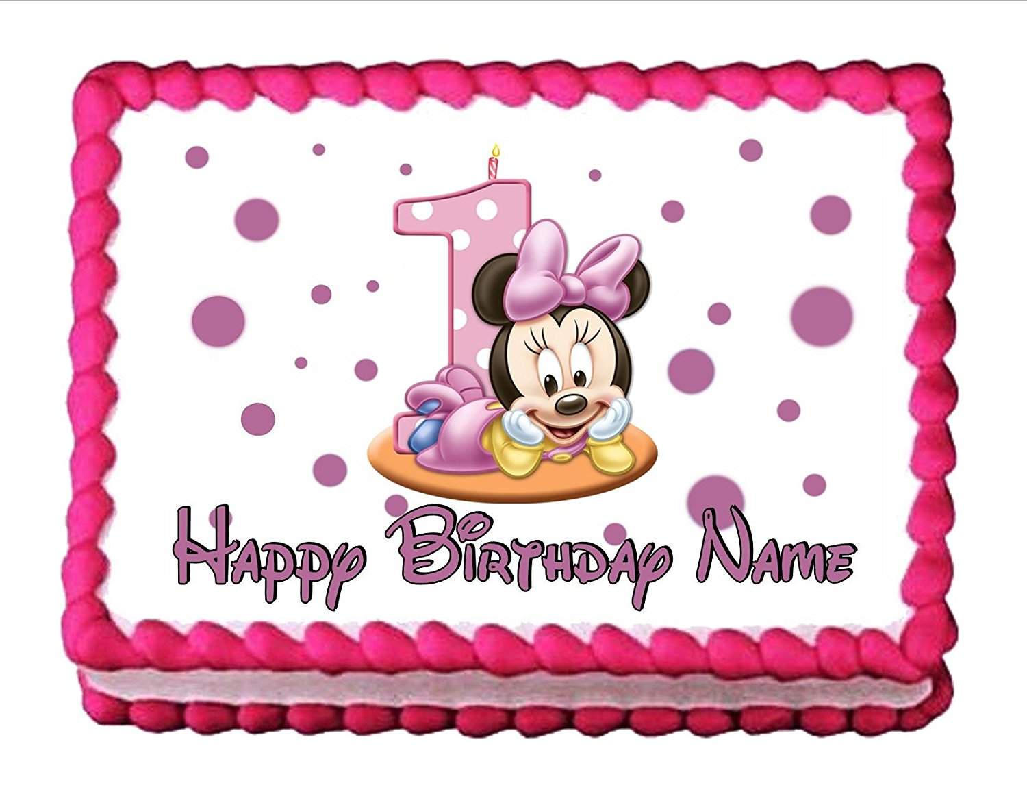 Groovy Cheap Baby Minnie Mouse Cake Topper Find Baby Minnie Mouse Cake Personalised Birthday Cards Petedlily Jamesorg