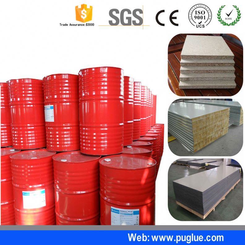 fast drying glue fiber reinforced plastics to melamine board adhesive for interior wall panel cement eps sip