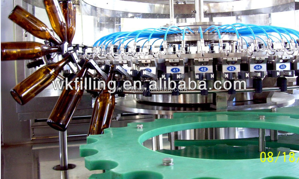 Beer in Aluminum cans filling machine production line