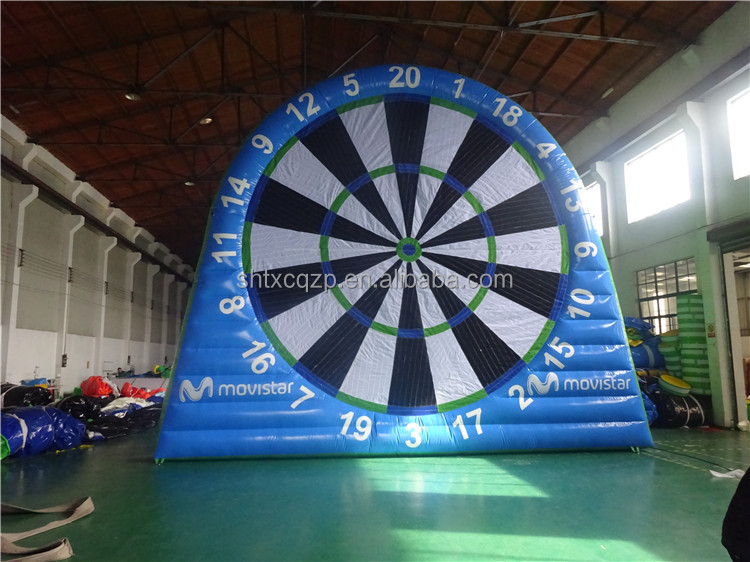 Outdoor Inflatable Dart Board Stand/inflatable dartboard soccer game