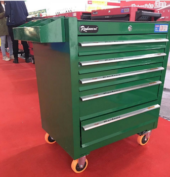 Mobile Steel Workbench Metal Industrial Storage Cabinets With Wheel