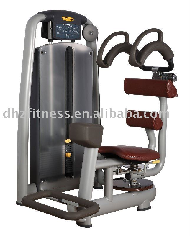 Total abdominal gym equipment