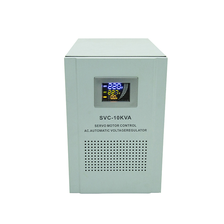 Cken SVC-10KVA Single Phase 220V LED TV Electric Equipment Voltage Stabilizer