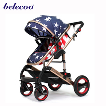 American 2016 custom doll pram made baby stroller with big wheels