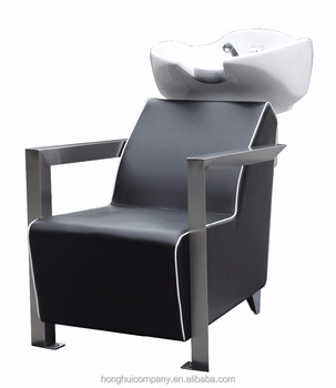 Hair Spa washing chair for barber shop shampoo chair with sink Back Wash Shampoo Unit H-E147