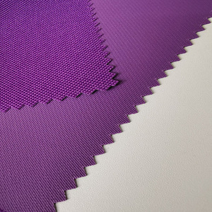 pvc coated backpack fabric material 300D 250D polyester fabric in stock