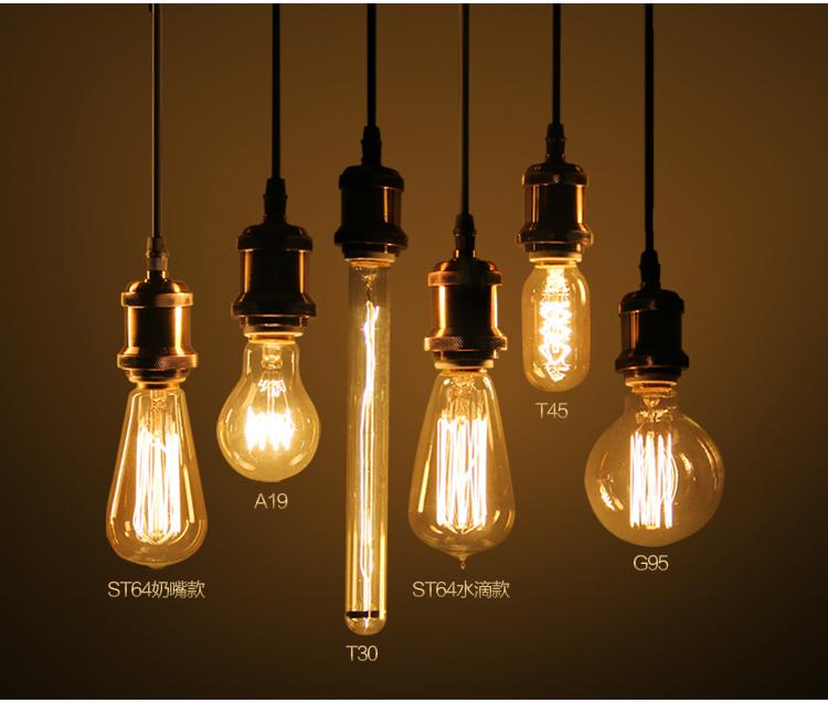 New Type Edison G80 E27 4w Led Filament Bulb For Home