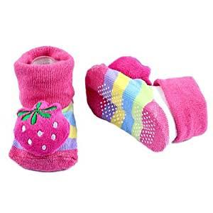 Anti-slip Socks - SODIAL(R)New Baby Girl Boy Anti-slip Socks Slipper Warm Cartoon Shoes Boots 0-12 Month