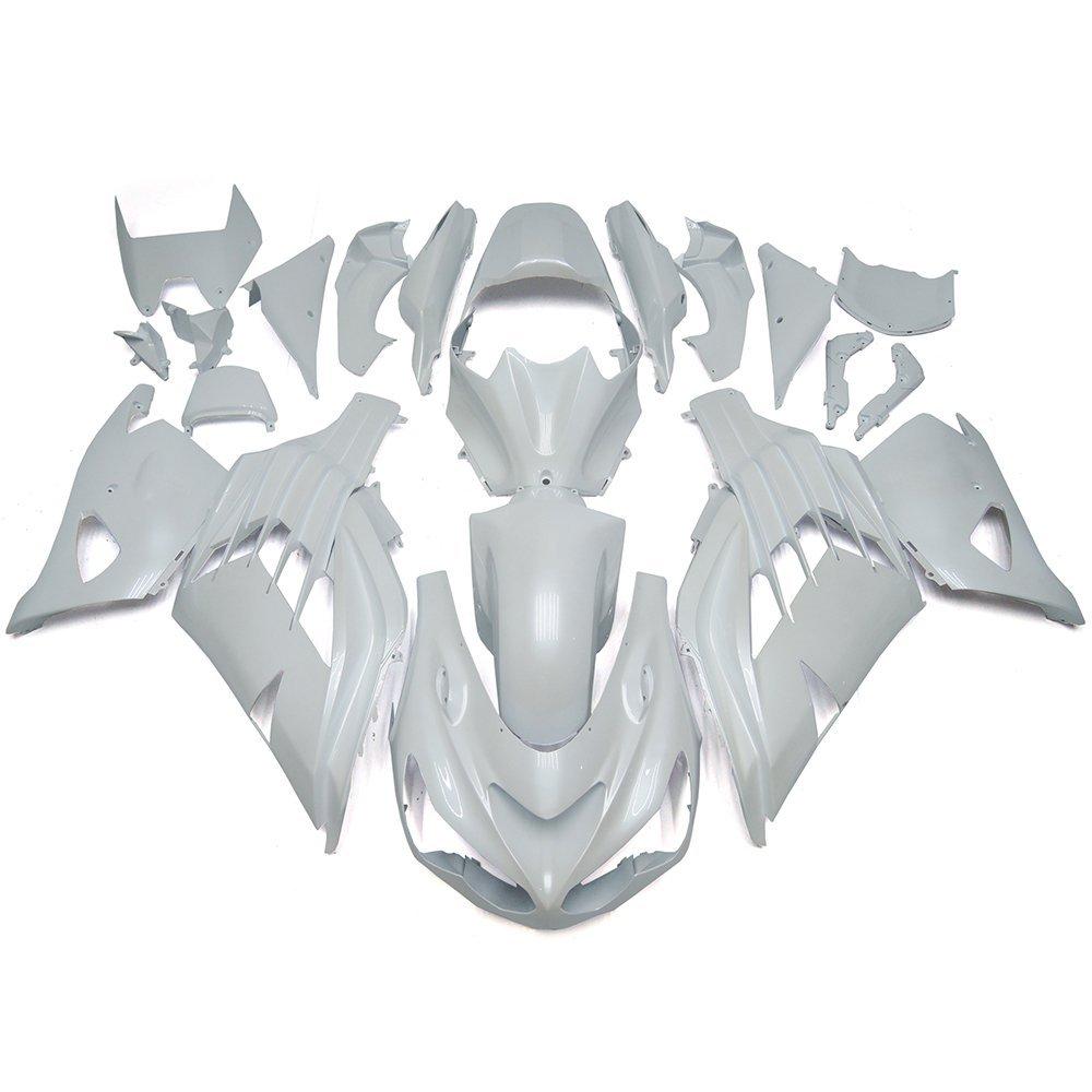 Sportfairings ABS Fairings For Kawasaki ZX14R Ninja 12 13 14 15 Year 2012 2013 2014 2015 Cowlings White Pearl Body Kits