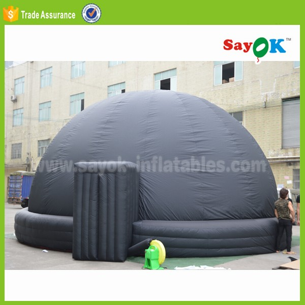 360 degree fulldome kids schools equipment movie star projection tent mobile portable inflatable planetarium dome for sale