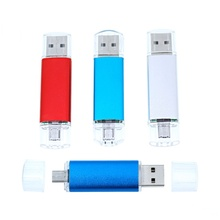 For Andriod Smart Phone 2-in-1 Micro OTG usb flash drive 4gb 8gb 16gb 32gb