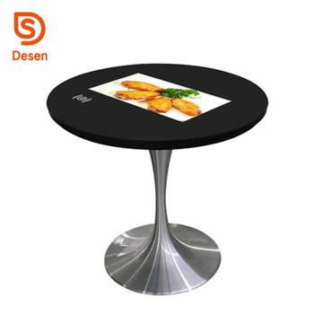 Floor Standing Waterproof Advertising PlayerSmart Touch Screen - Standing table for restaurant