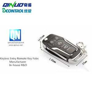NEW car key fob compatible with Ford focus , mendeo, fiesta car smart key  QN-RS350X from Qinuo
