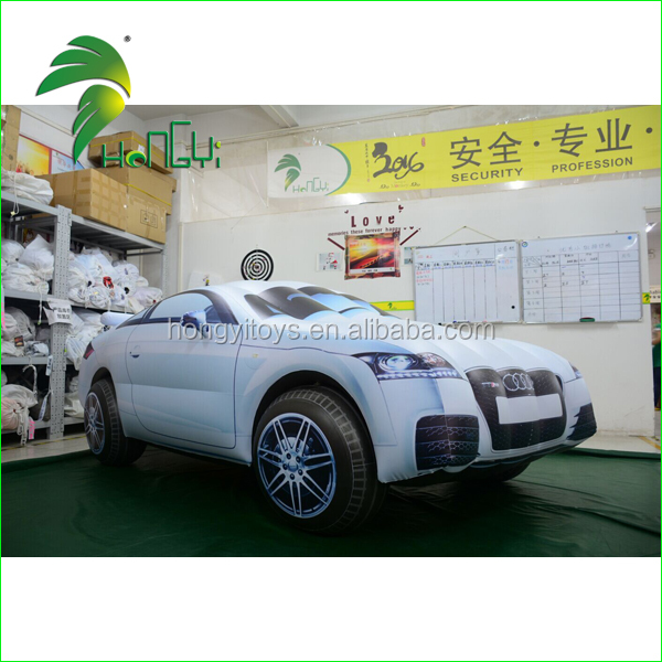 Outdoor Campaign Large Advertising Inflatable Vehicle Car Replicas / Promotion Custom Made Model Cars