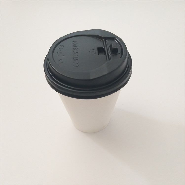 OEM wholesale of paper coffee cup with lid