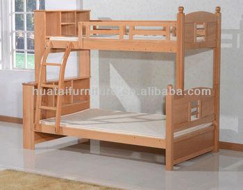 Etagenbett Holz : Mode kinder mutter massivholz hochbett einfache buche