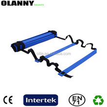adjustable wholesale durable blue PP agility ladder
