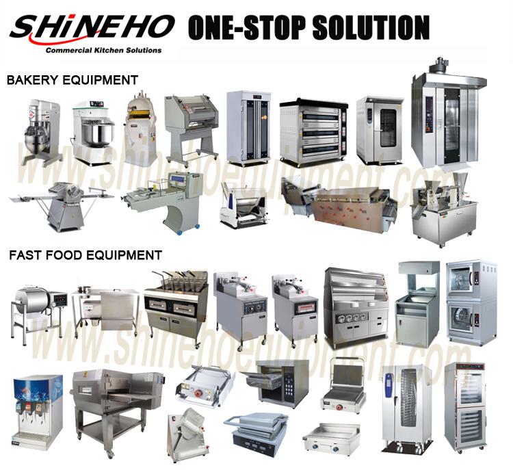 Industriële vacuüm friteuse machine/ventless automatische friteuse