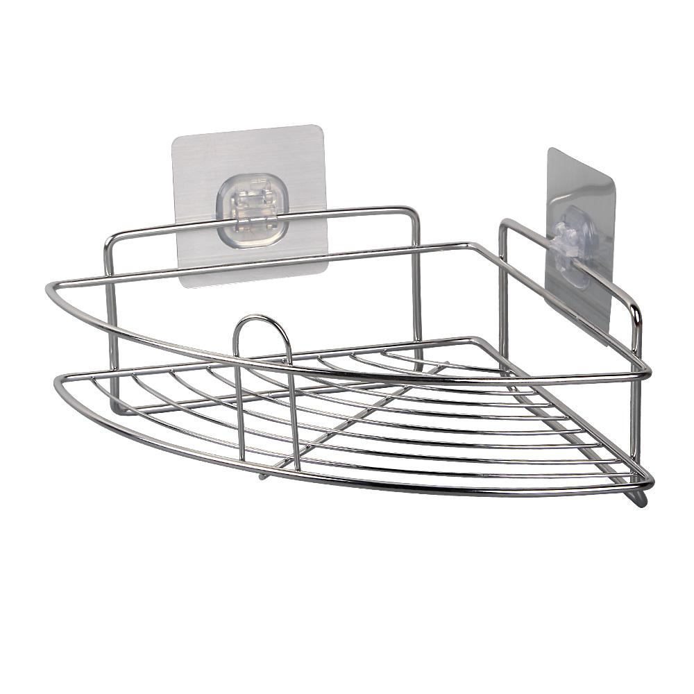 Wall Mount Shower Caddy Stainless Steel Bathroom Storage Organizer