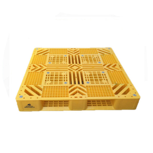 1200*1200*150 blue stackable large double side rubber plastic pallet price
