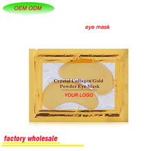 Crystal Gel Collagen Gold Power Eye Mask Great For Anti Aging Dark Circles Puffiness And So On