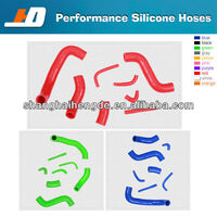 silicone rubber radiator hose For RENAUL 5gt carb water hose double wire hose clamps