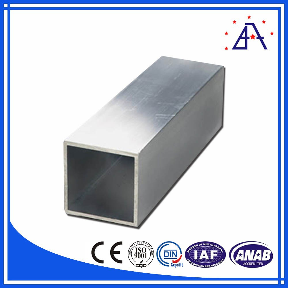 Customized Square Aluminium Extrusion