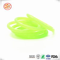 Food Grade Transparent Silicone O Ring Bracelet