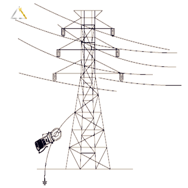Substation Structure Transformer Electric Steel Tower Pole