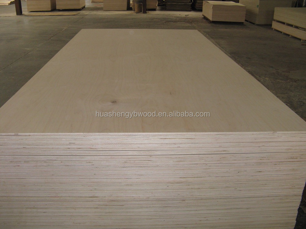 UV coating plywood maple plywood birch plywood