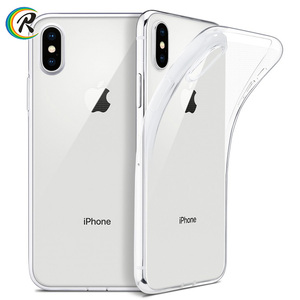 phone case and accessories ultra thin slim clear soft tpu cover for iphone x xs max xr case support wireless charging