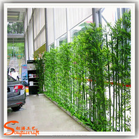 hot sale Factory cheap price artificial bamboo tree customized fake artificial bamboo plastic