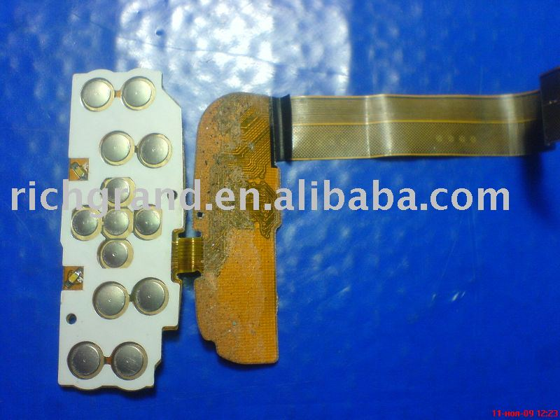 mobile phone flex cable with keypad pcb for Nokia China N95 8 gb