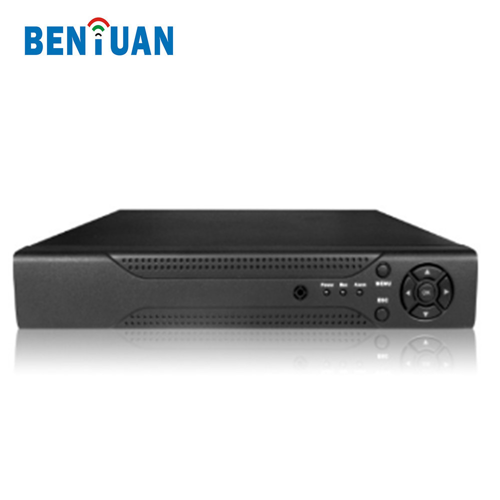H264 CCTV Security 720P 4CH AHD DVR Support 4TB HDD