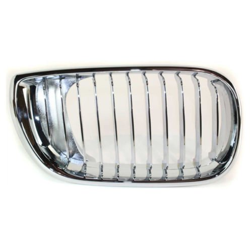 KEYSTONE 51138208686 BMW 3 SERIES GRILLE CHROME COUPE CONVERTIBLE PASSENGER SIDE BM1200135
