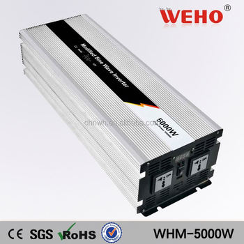 Adjustable voltage 48v 220v dc to ac 5 kw inverter