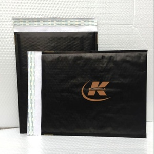 Factory Cheap Custom Mailing Shipping Express Padded Black Mail White Kraft Paper Warped Bag Bubble Envelope Mailer