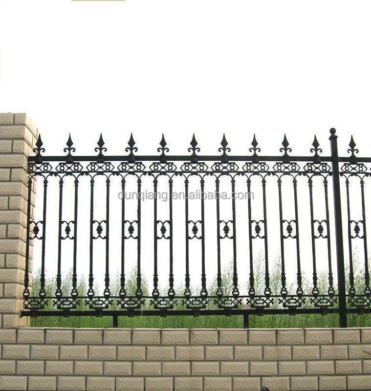 Modern Garden Powder Coated Steel Fence Gates View