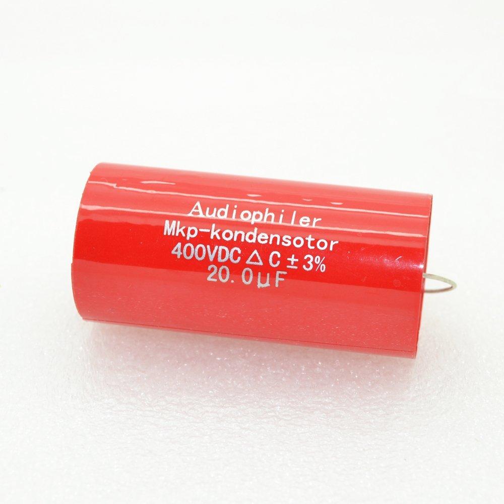 10pcs AudioPhiler 1.5uf 400v MKP CYCAP  Tubular Audio Capacitor-4171