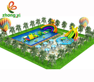 Grootste Water Fun Pretpark Water Thema Apparatuur